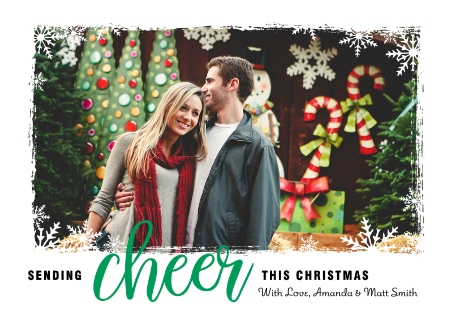 snowflake cheer snowflake cheer cvs christmas cards 2015
