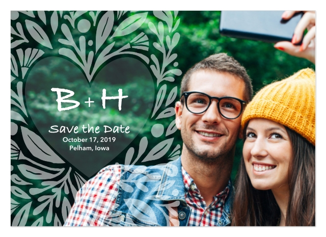 Save The Date Cards - Make Your Own Save The Dates - CVS Photo