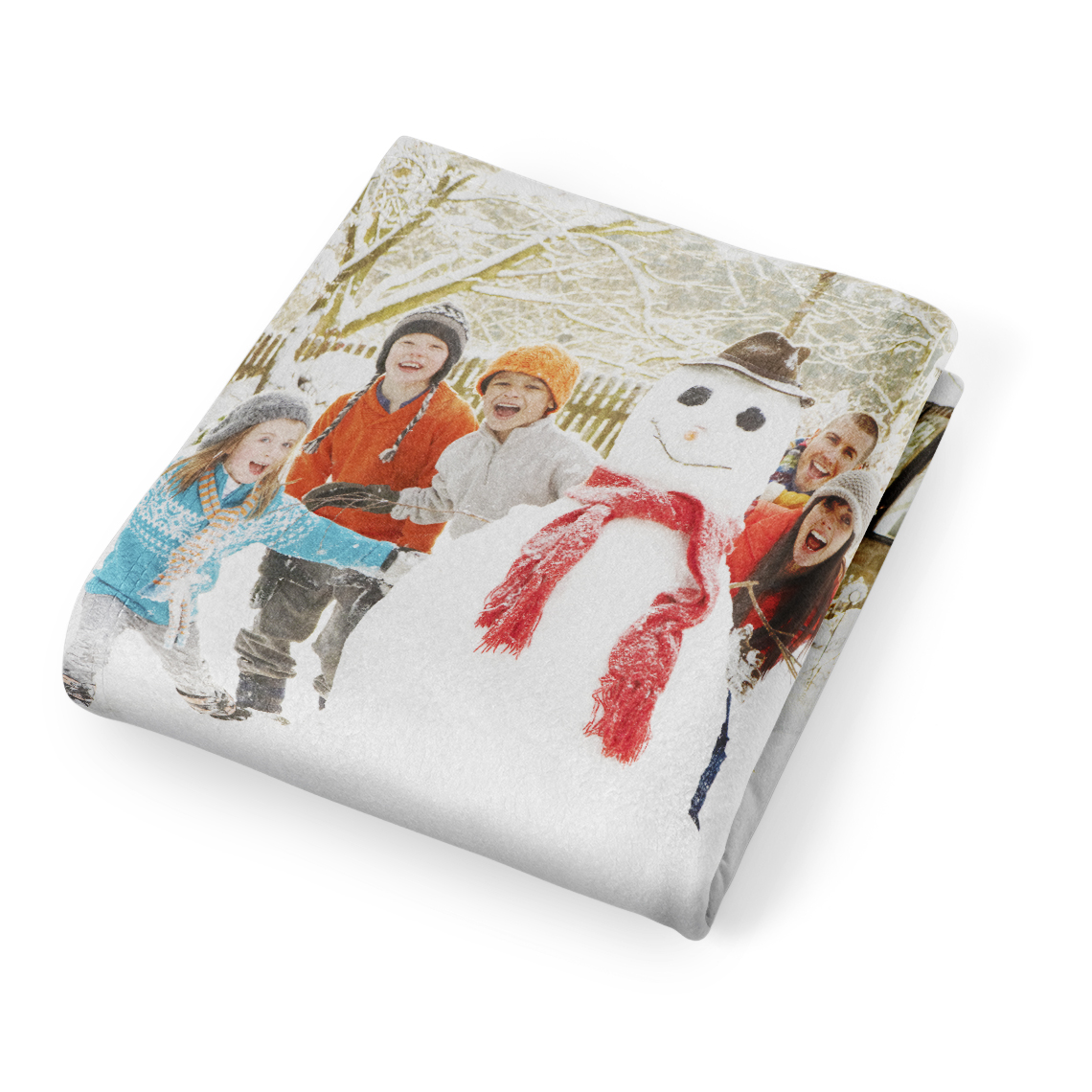 arctic fleece photo blanket  50x60