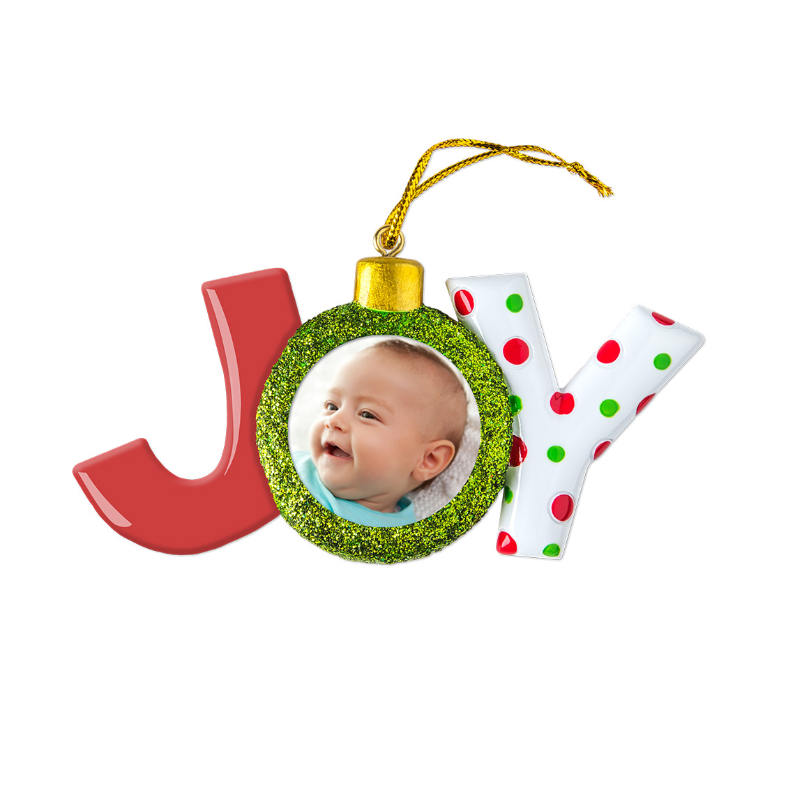 Icon Ceramic Joy Ornament