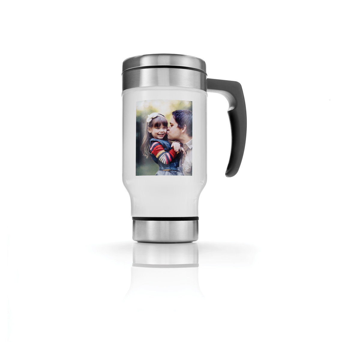 13 Oz. Steel Travel Mug