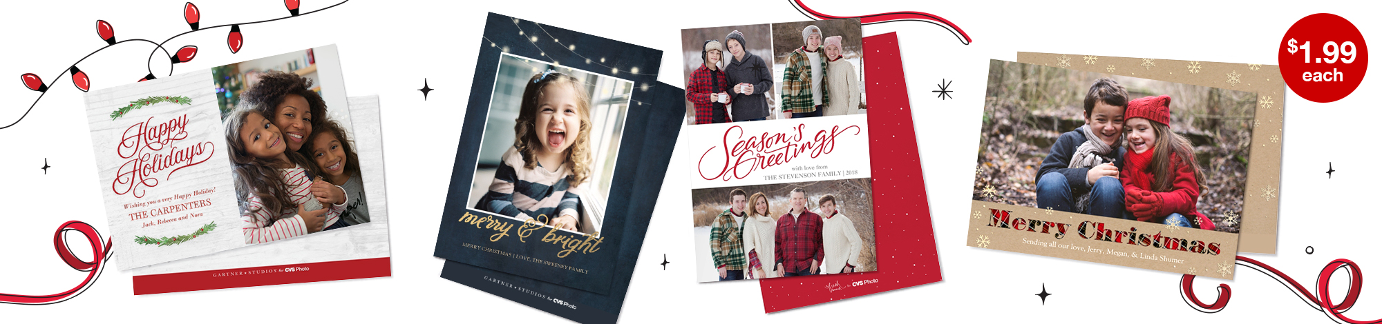 5x7 Premium Cards - The Perfect Holiday Photo Card