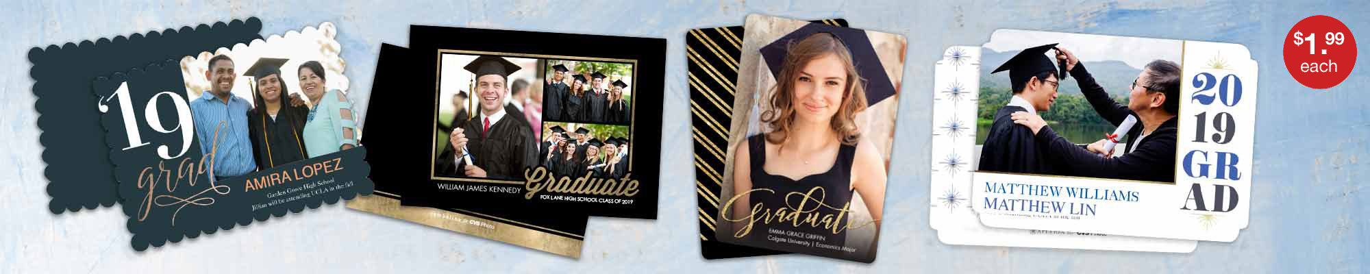 5x7 Premium Cards - The Perfect Graduation Announcement!