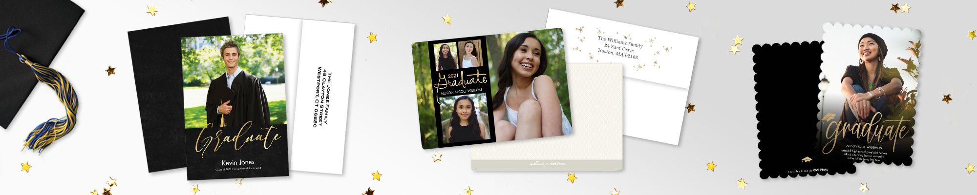 5x7 Premium Cards - The Perfect Graduation Card