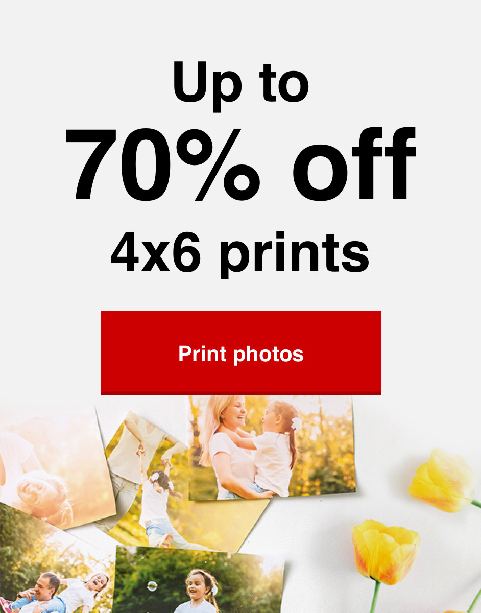 14¢ 4x6 prints (min 50) with Promo Code PRINT14 Offer ends 4/24/21. Print now >