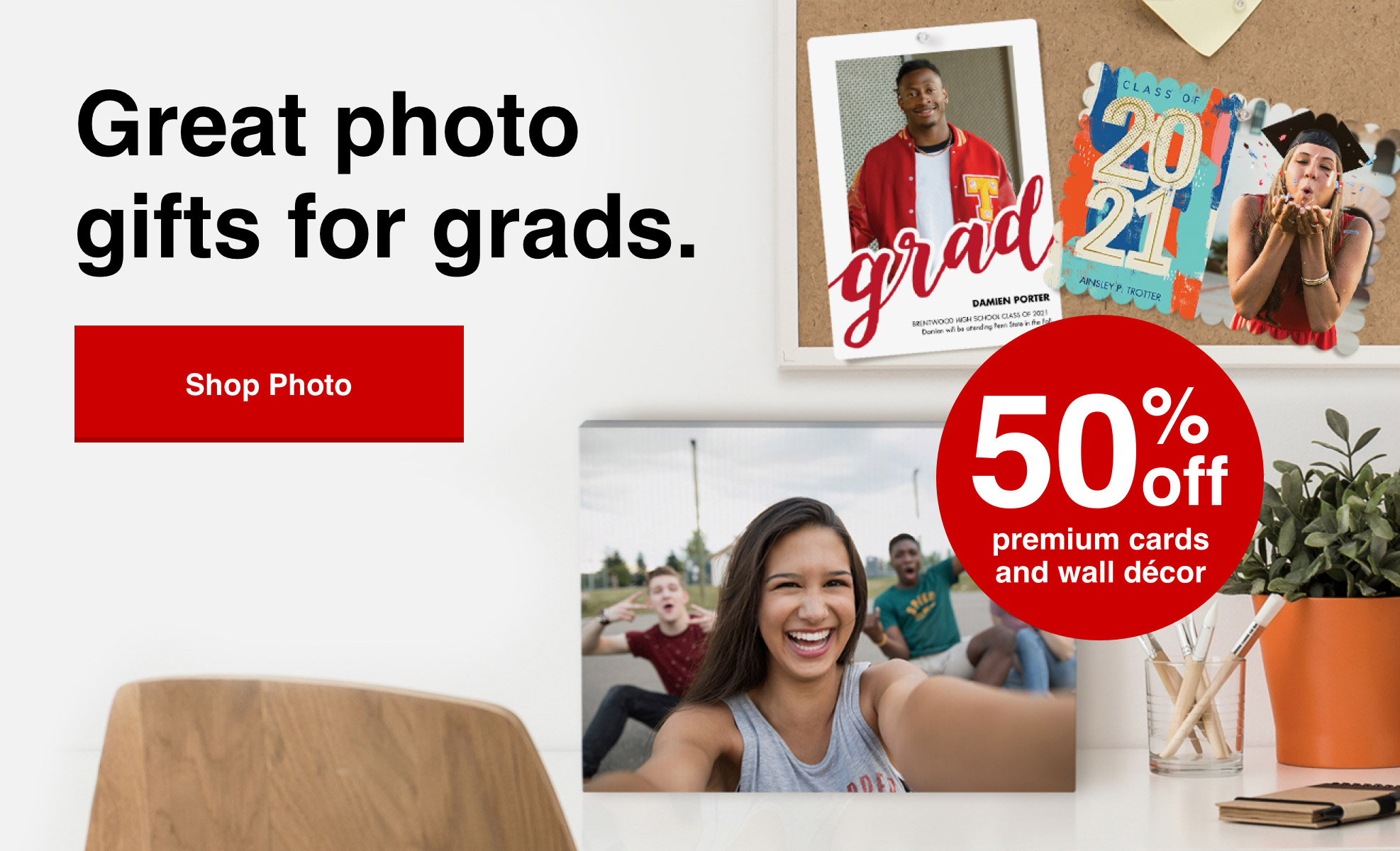 Celebrate your Grads' accomplishments today and save up to 50%. Shop now >