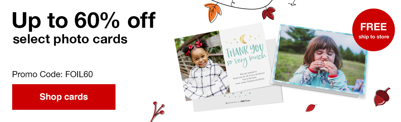 60% off foil and premium stationery with Promo Code FOIL60 Offers end  10/19/19.