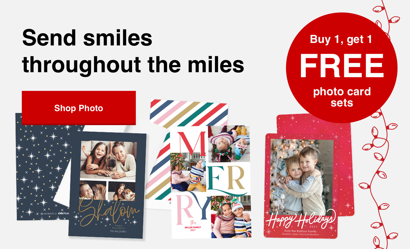 Buy 1 set of cards, get the 2nd set free with Promo Code 2CARDS | Offer ends 10/16/21.