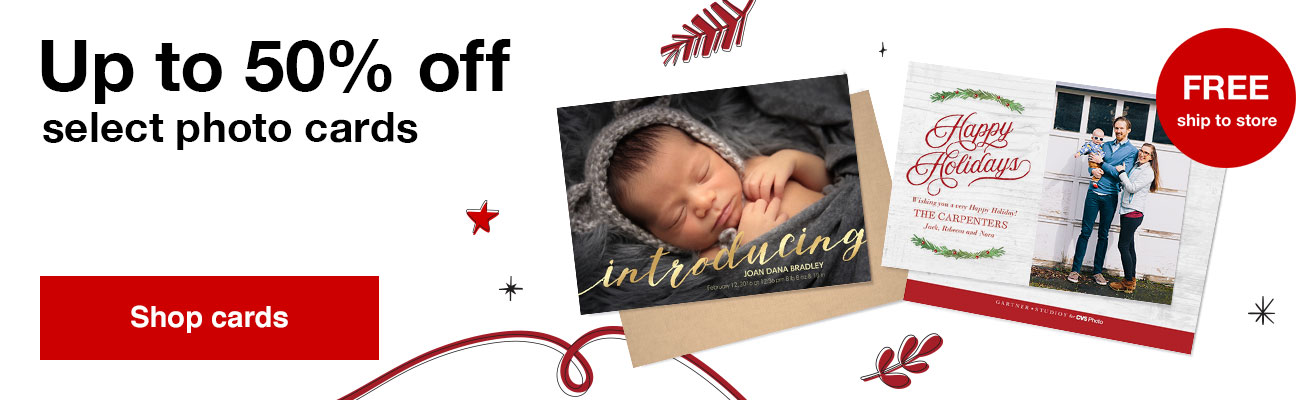 50% off foil and premium stationery with Promo Code TOP50  Offers end  10/26/19.