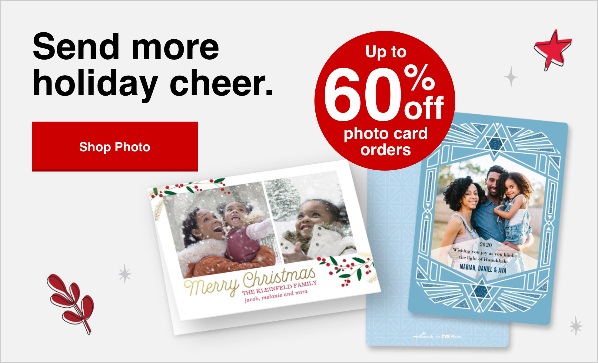 60% off cards orders of $40 or more with Promo Code CARD60 Offer ends 10/31/20.