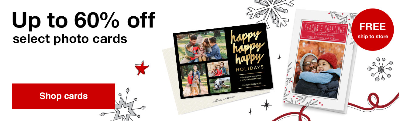 60% off foil and premium stationery cards with Promo Code STATIONERY60  Offer ends  11/16/19.