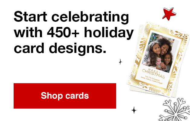 40% off Photo cards with Promo Code HOLIDAY40  Offers end  12/14/19.