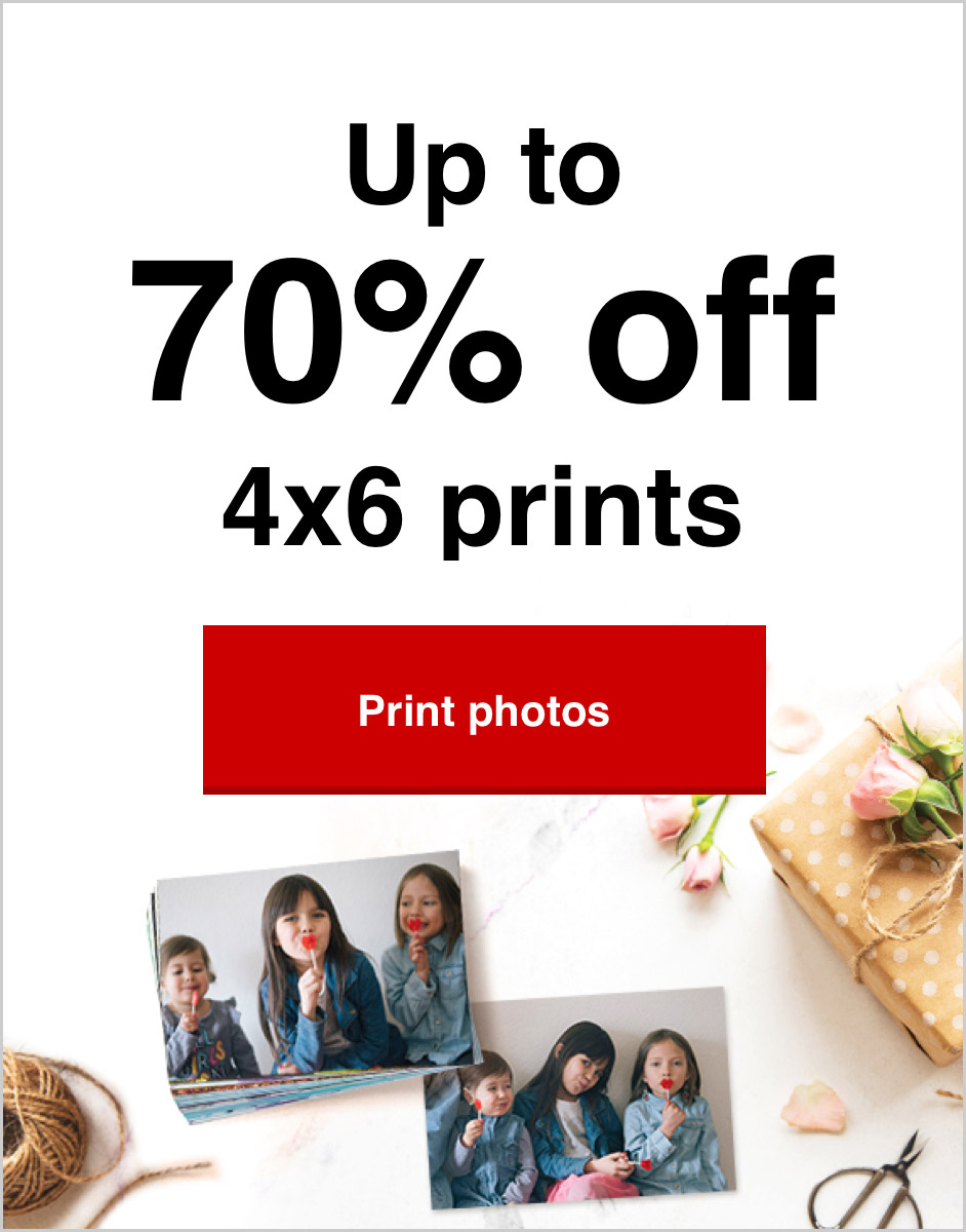 Save up to 70% on prints. Print your 2020 memories today!