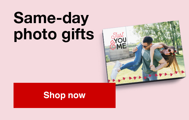 need a gift now? Shop our selction of same day photo gifts and pick them up in store today!
