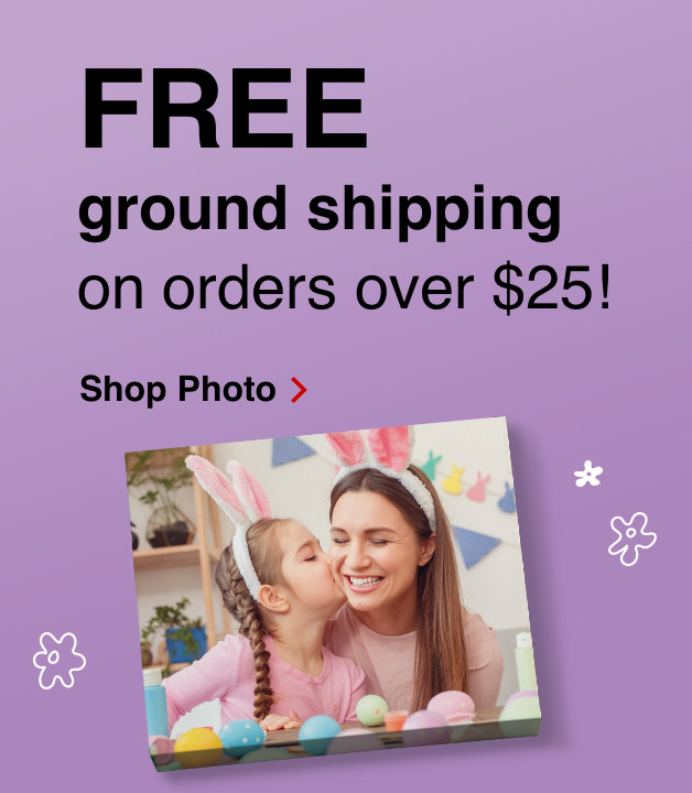 Save up to 70% on 4x6 prints. Print you're spring fun today!