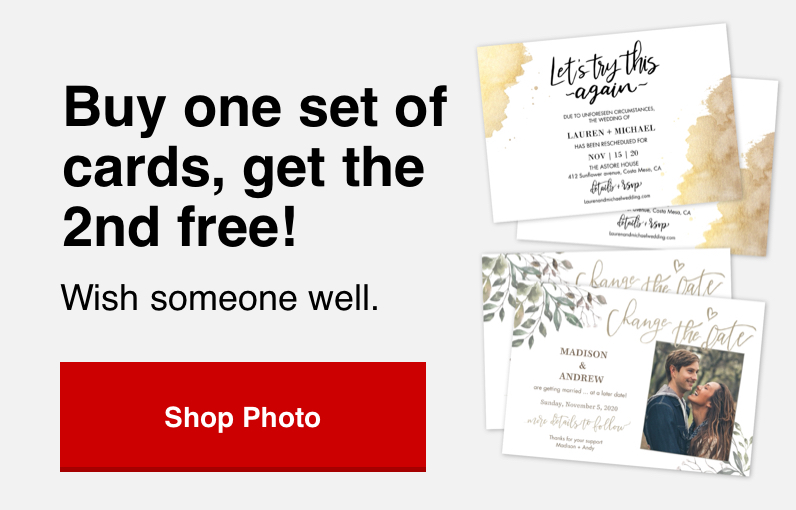 buy 1 set of cards, get 2nd set for free with Promo Code FREECARD Offer ends 8/15/20.