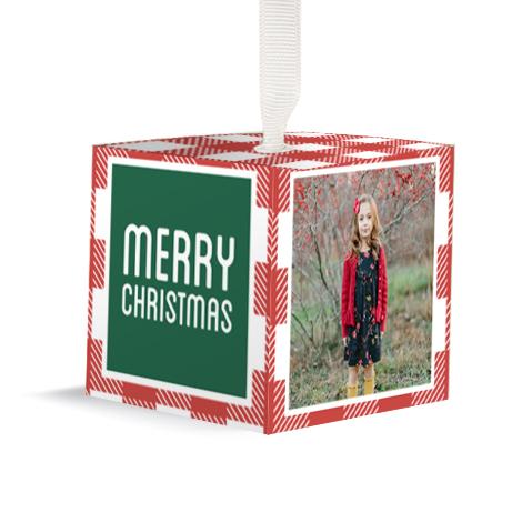 2x2 Cube Ornament