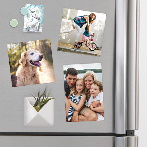 NEW! 5x5 Same Day Photo Magnet