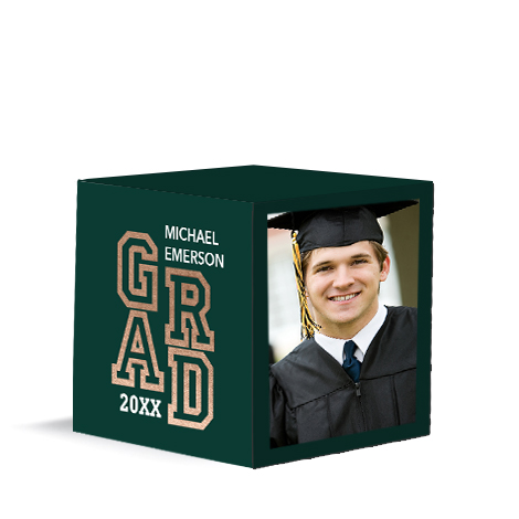 Accomplished Grad Green