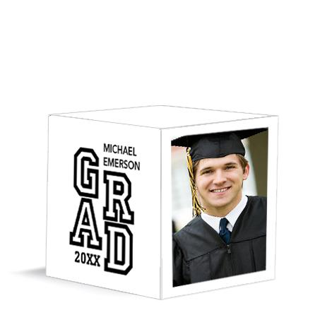 Accomplished Grad White