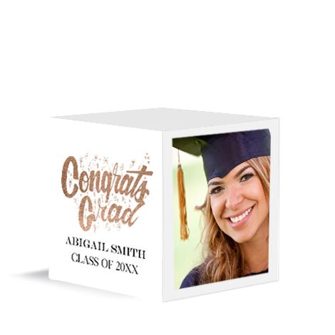 Congrats Grad White