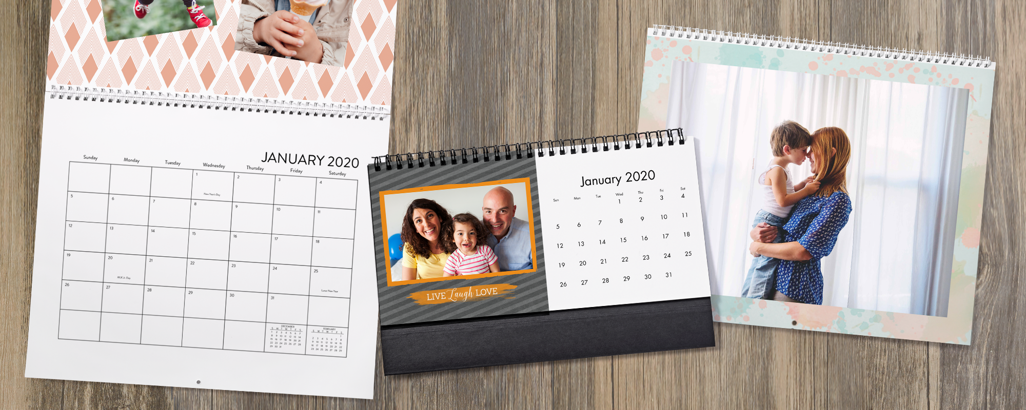 Design & personalize your room with Photo calendars!