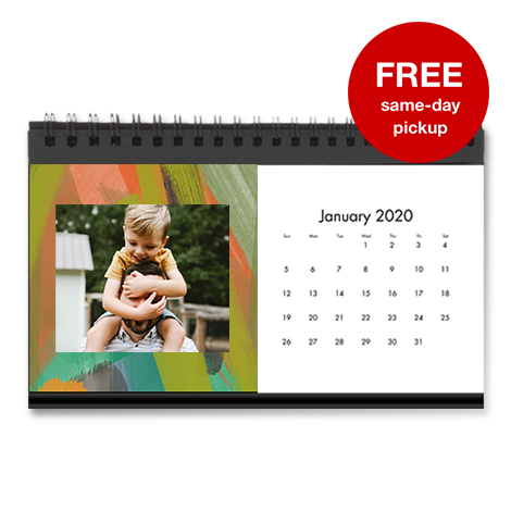 Same Day Desktop Calendar