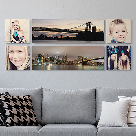 Panoramic Canvas Set