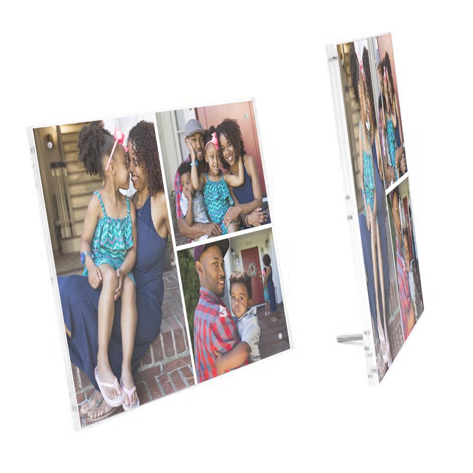 8x10 Acrylic Collage Panel