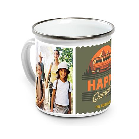 12 Oz. Enamel Campfire Mug