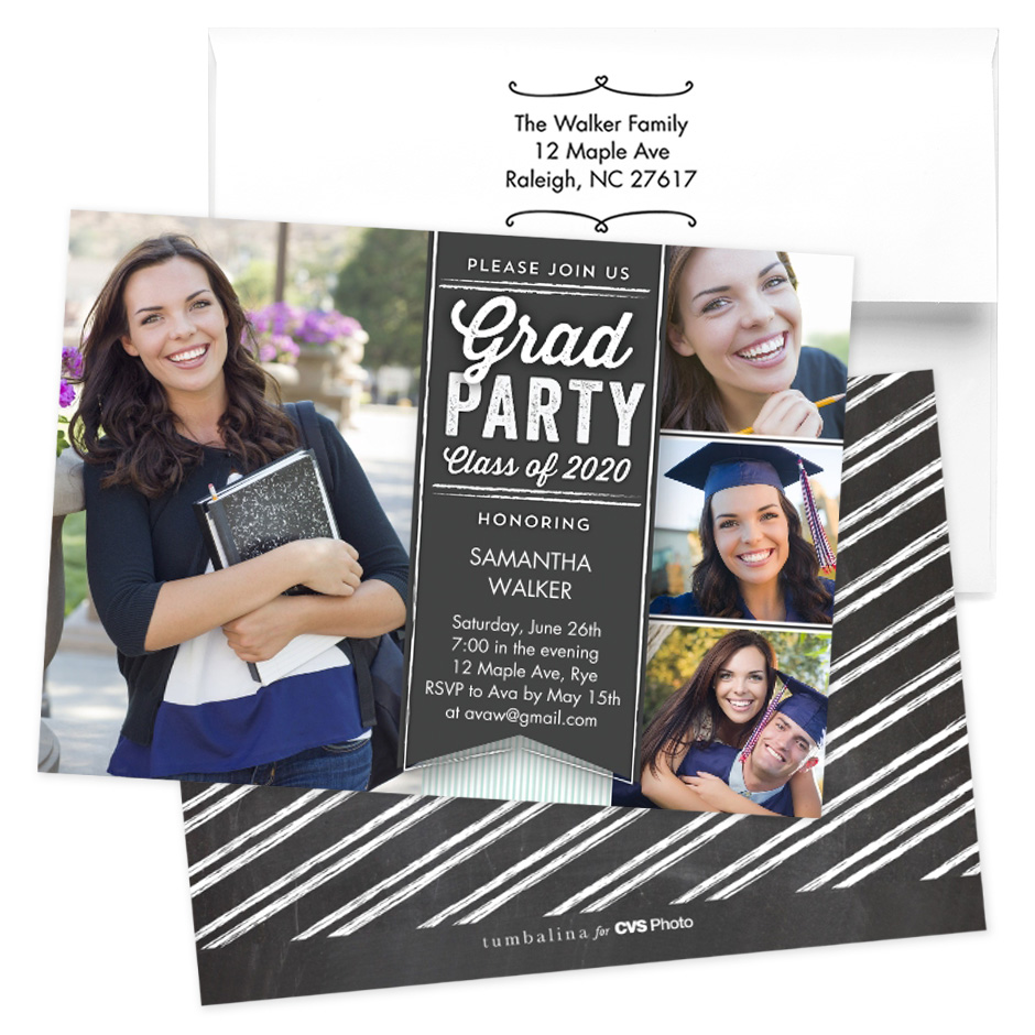 Cvs Graduation Invitations