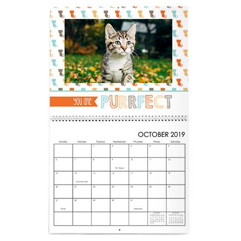 11x14 Premium Wall Calendar