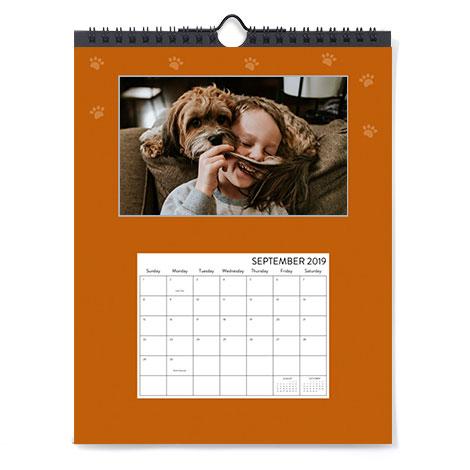 8x10 Single-Sided Calendar