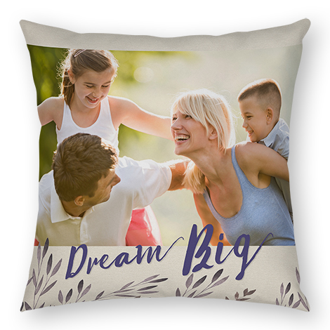 18x18 Photo Pillow