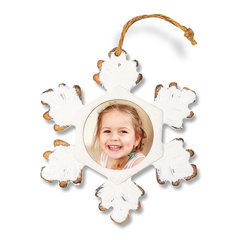 Rustic Snowflake Ornament