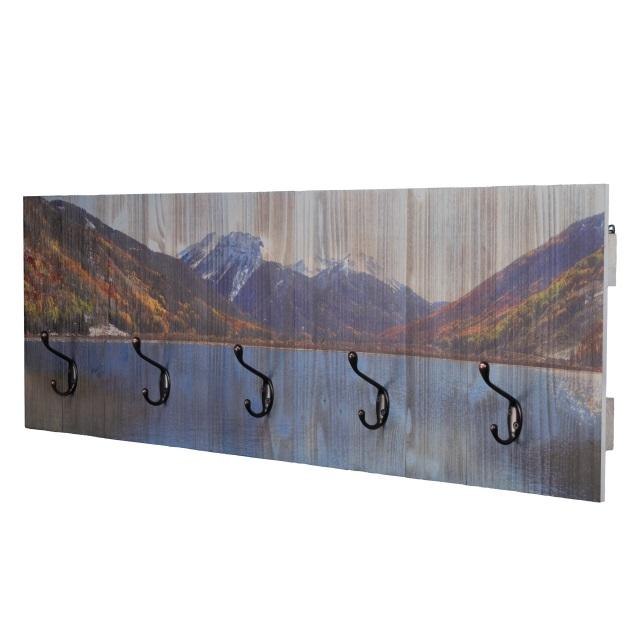 Rustic Wood Coat Hook