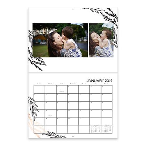 9x12 Premium Stationery Calendar