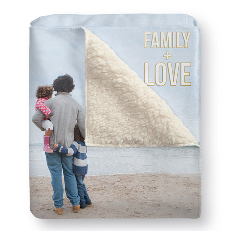 Photo blankets custom photo picture blankets cvs photo sherpa fleece blanket sherpa fleece blanket negle Images