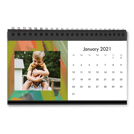 Same Day Desktop Calendar