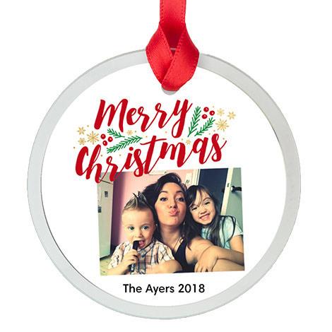 glass round ornament glass round ornament - Pharmacy Christmas Ornaments