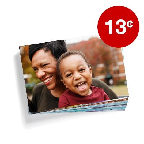 13¢ 4x6 prints (min 50)