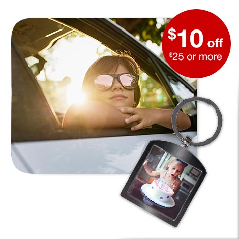$10 off $25+ Photo gifts