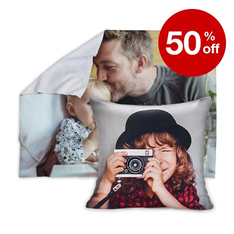 50% off blankets and pillows