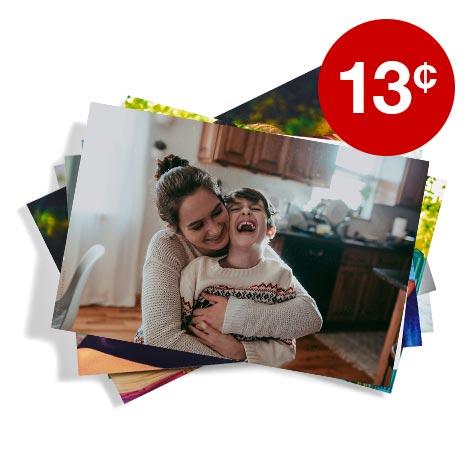 13¢ 4x6 prints (min. 50)