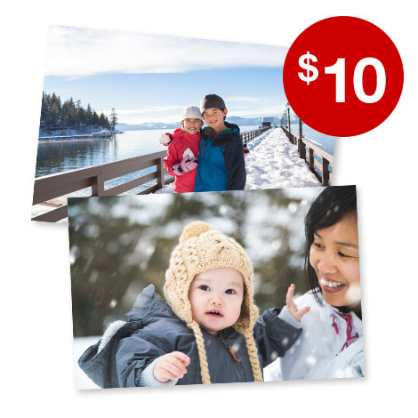 100 4x6 Prints for $10