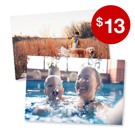 150 4x6 Prints for $13