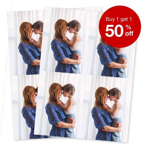 BOGO 50% Off Enlargements, Collages & Wallet Prints