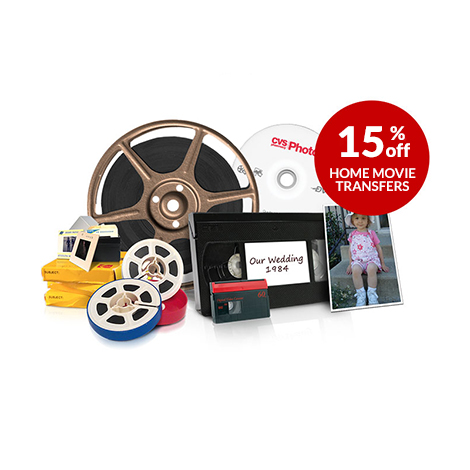 15% off video transfer services