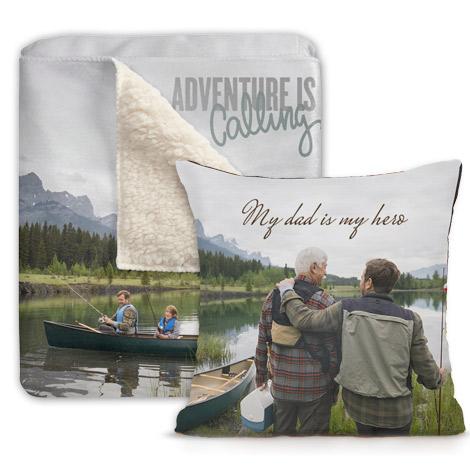 Photo Blankets & Pillows
