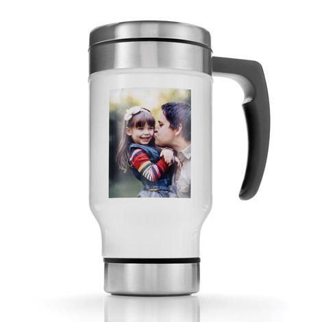13 Oz. Steel Travel Mug